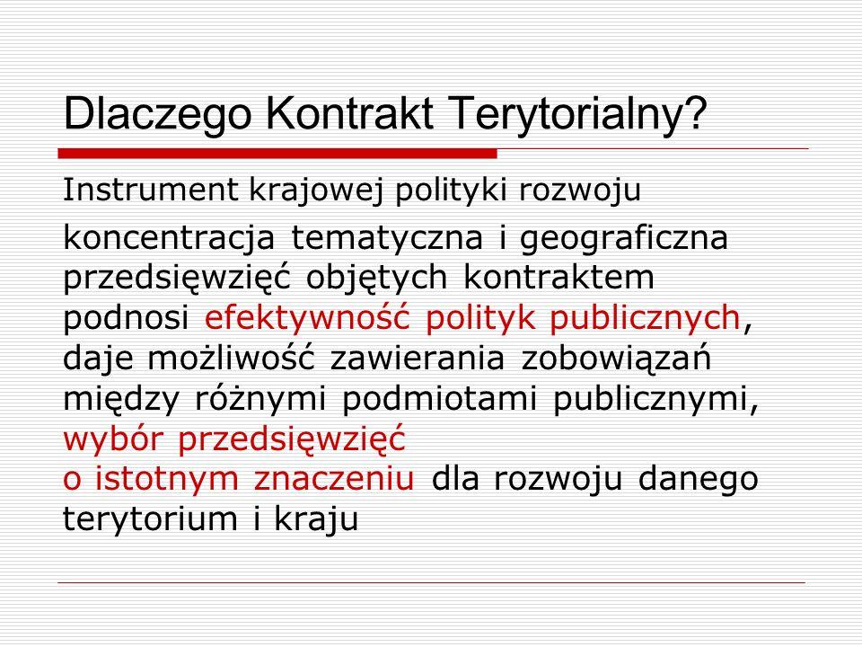 Dlaczego Kontrakt Terytorialny.