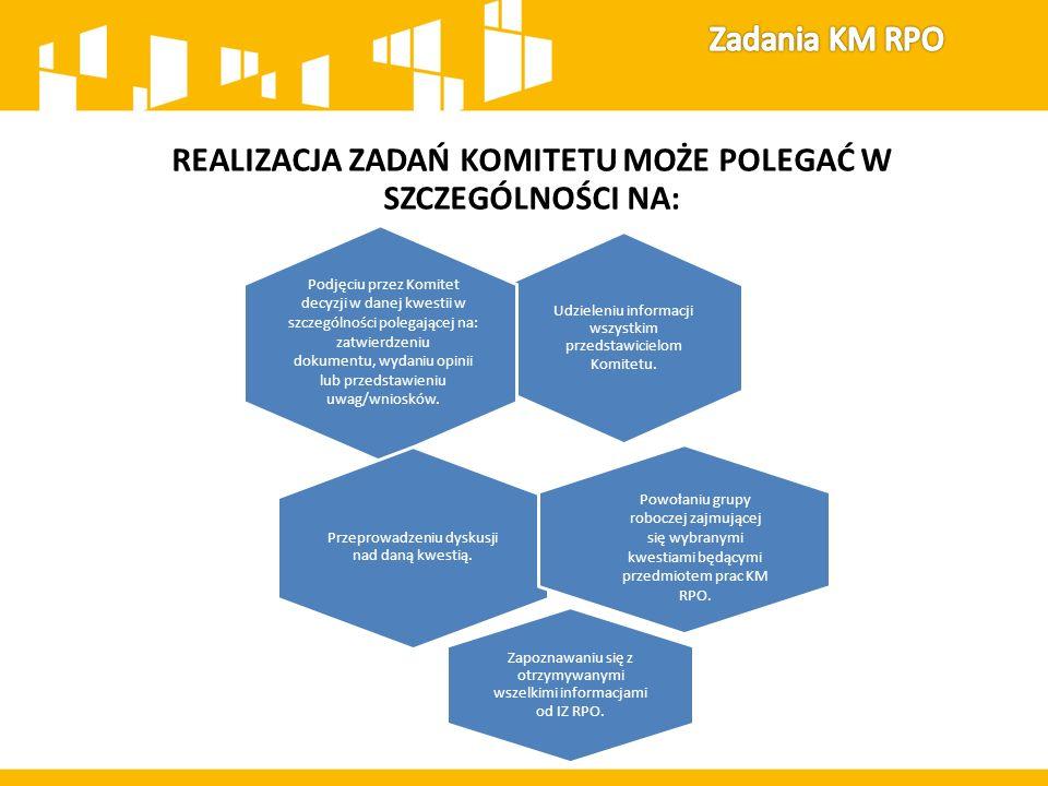 REALIZACJA ZADAŃ KOMITETU MOŻE POLEGAĆ W SZCZEGÓLNOŚCI NA: Udzieleniu informacji wszystkim przedstawicielom Komitetu.