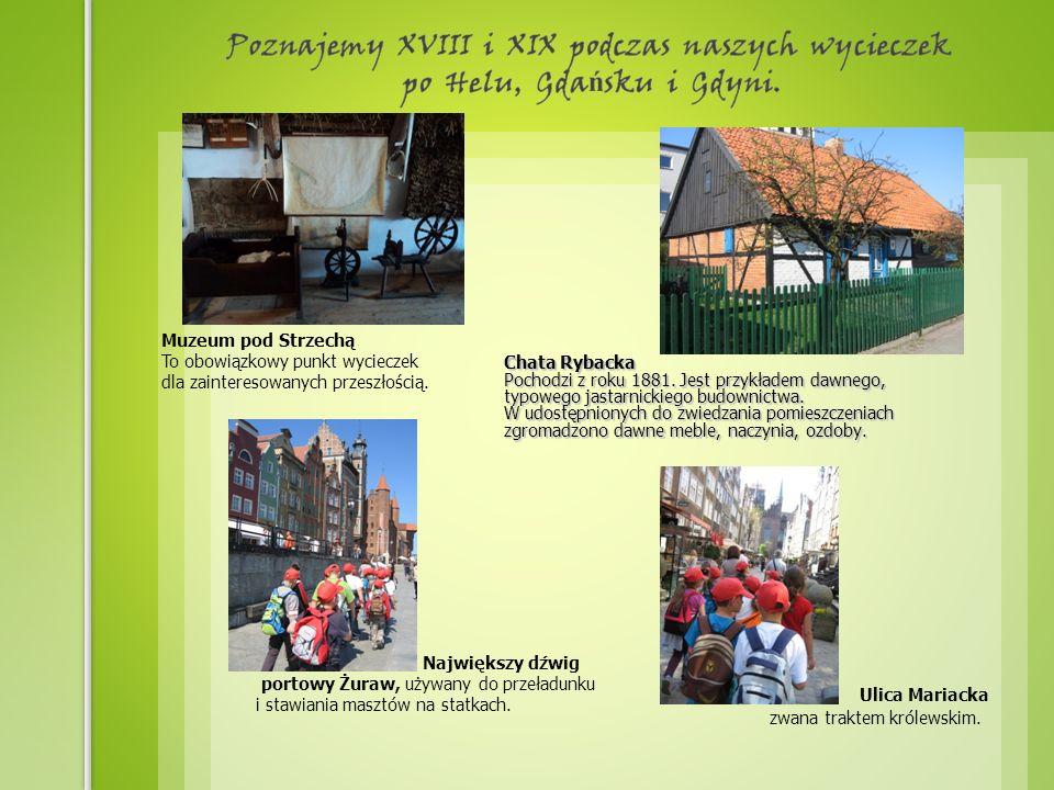 Chata Rybacka Pochodzi z roku 1881. Jest przykładem dawnego, typowego jastarnickiego budownictwa.