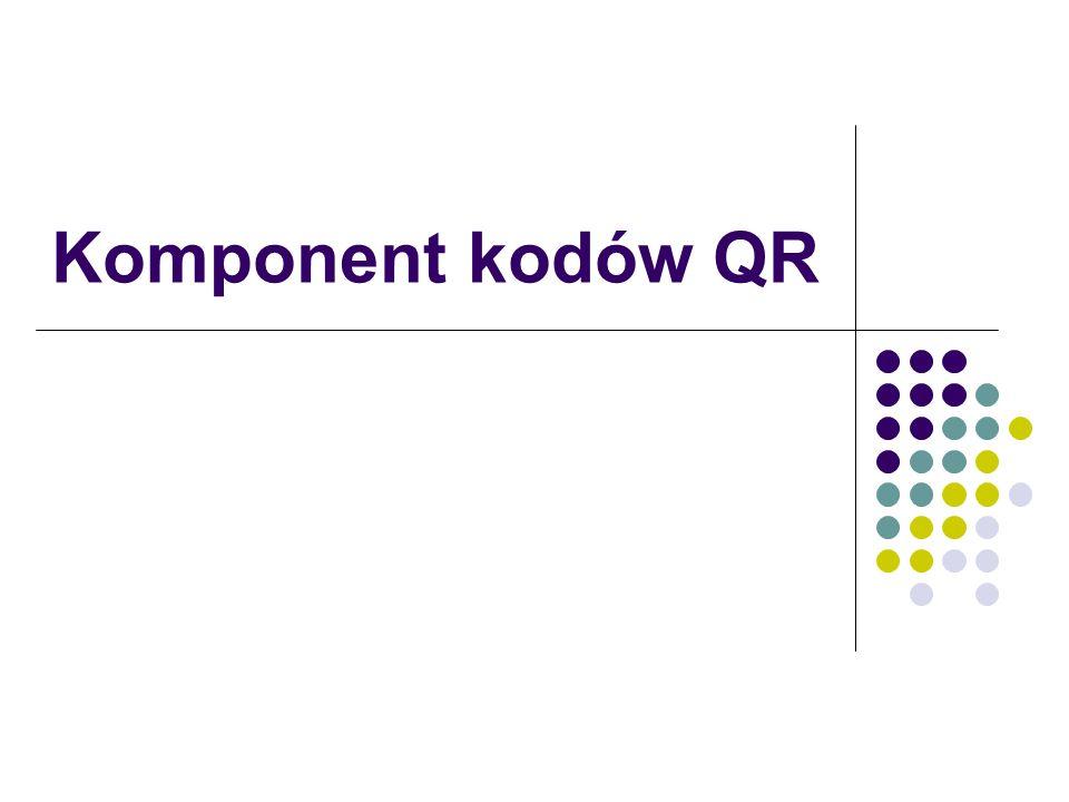 Komponent kodów QR