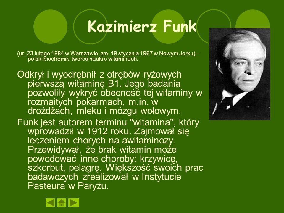 Kazimierz Funk (ur.23 lutego 1884 w Warszawie, zm.