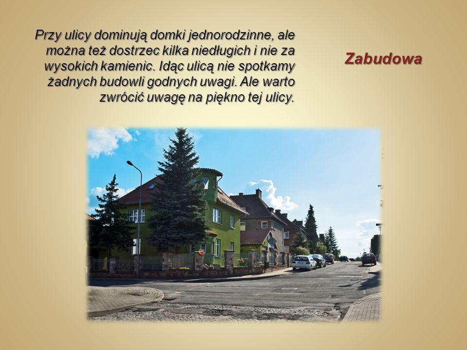 Ulica powstała w roku 1935, nosiła wtedy nazwę Moritz – Krantzstraße.