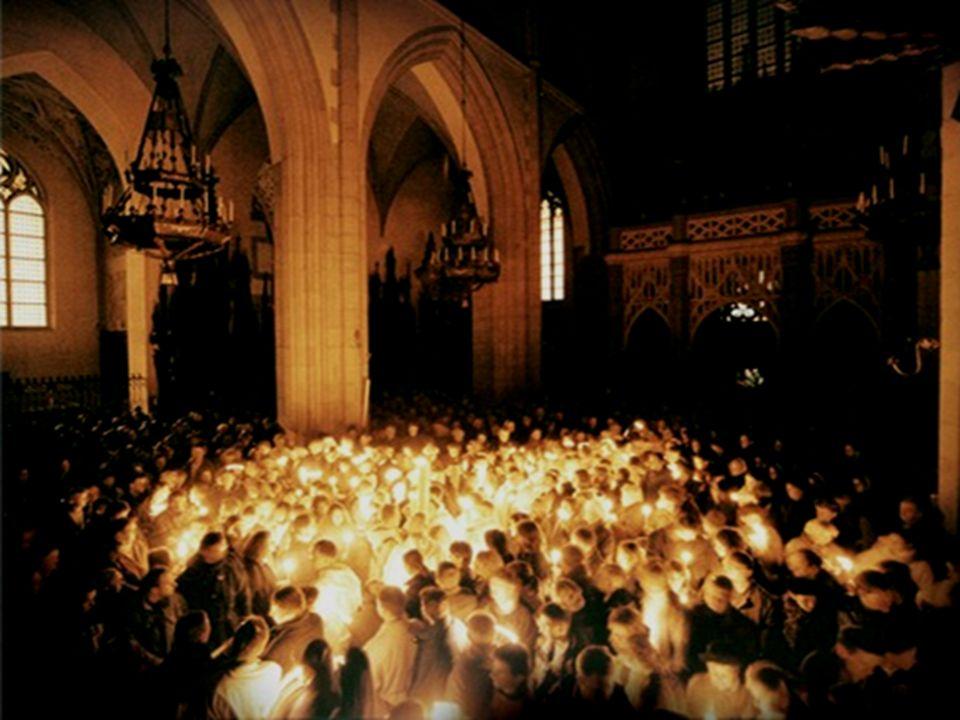 O stań się, Jezu, dla duszy Radością Paschy wieczystej I nas, wskrzeszonych Twą mocą, Do swego przyłącz orszaku.