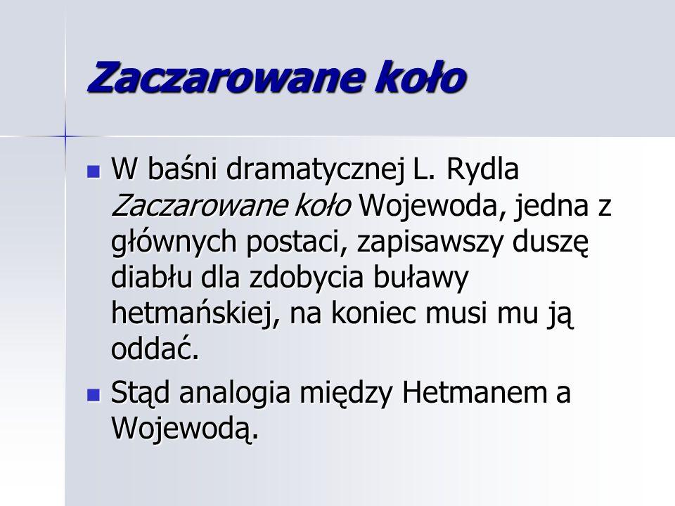 Zaczarowane koło W baśni dramatycznej L.