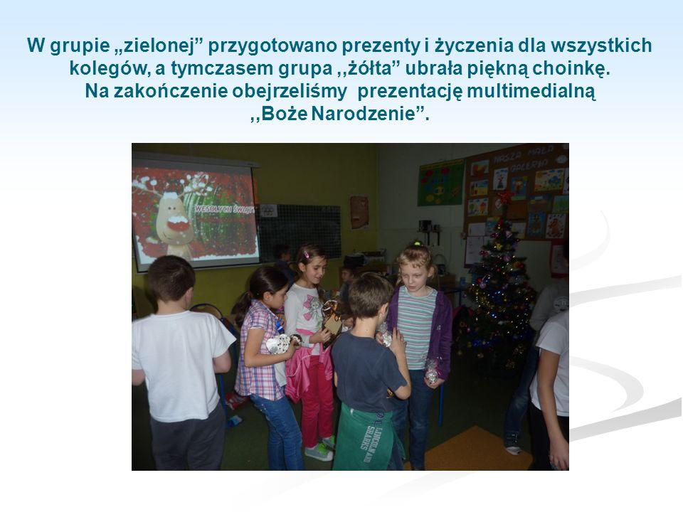 Okres Świąt Bożego Narodzenia to szczególny czas, czas śpiewania kolęd, składania życzeń, rodzinnych spotkań, wręczania prezentów bliskim.