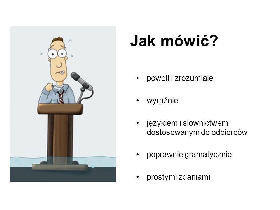 Im bardziej syntetyczna prezentacja, tym więcej czasu powinny nam zająć przygotowania wystąpienia.