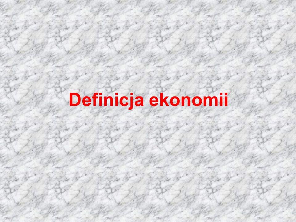Definicja ekonomii