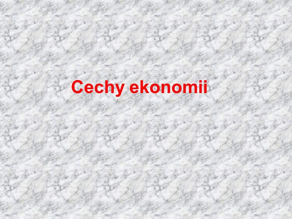 Cechy ekonomii