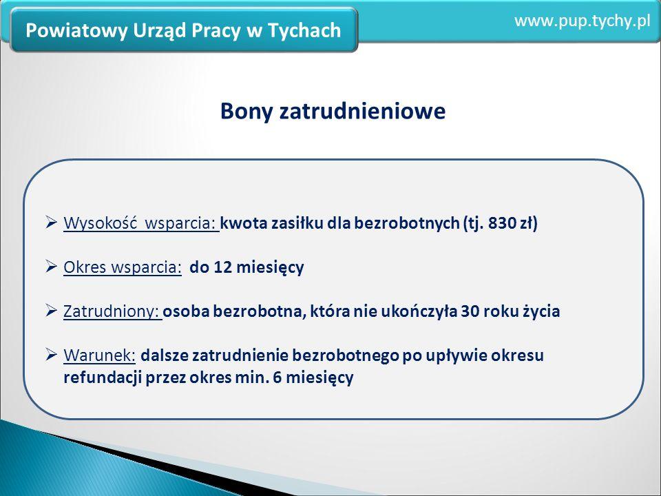 Zdobywanie kwalifikacji i doświadczenia zawodowego www.pup.tychy.pl Powiatowy Urząd Pracy w Tychach