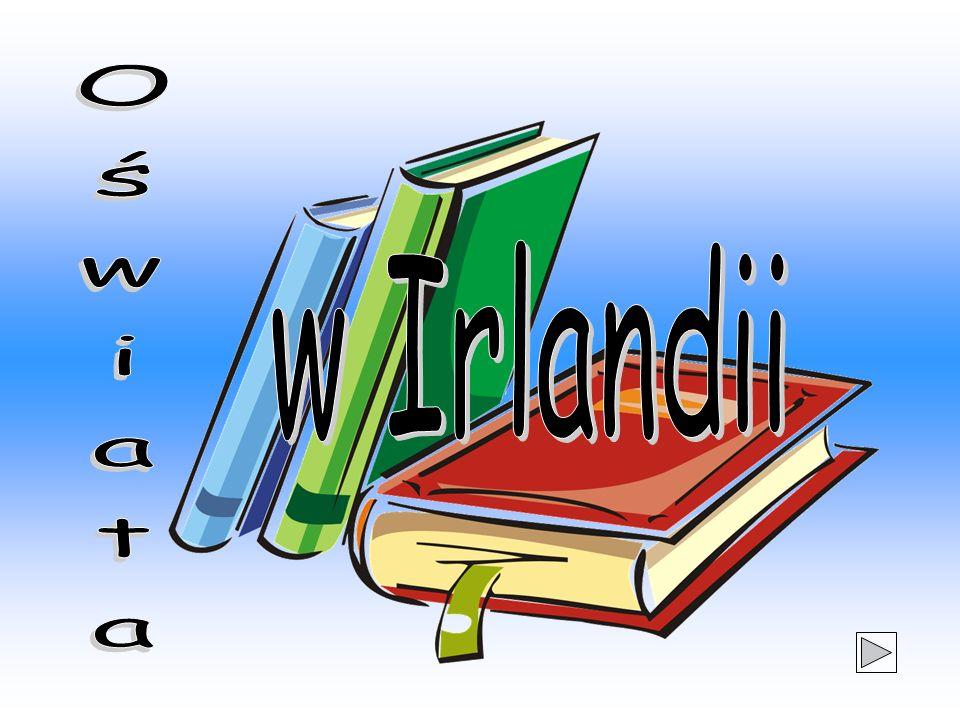 System oświatowy w Irlandii kierowany jest centralnie przez Ministerstwo Edukacji Narodowej.