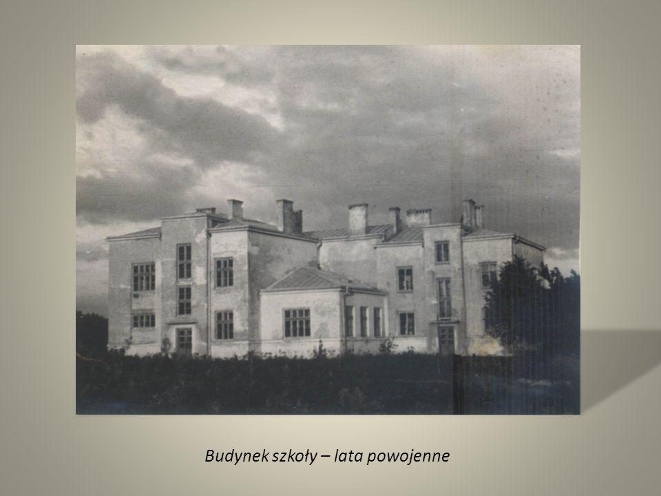 Budynek szkoły – lata powojenne