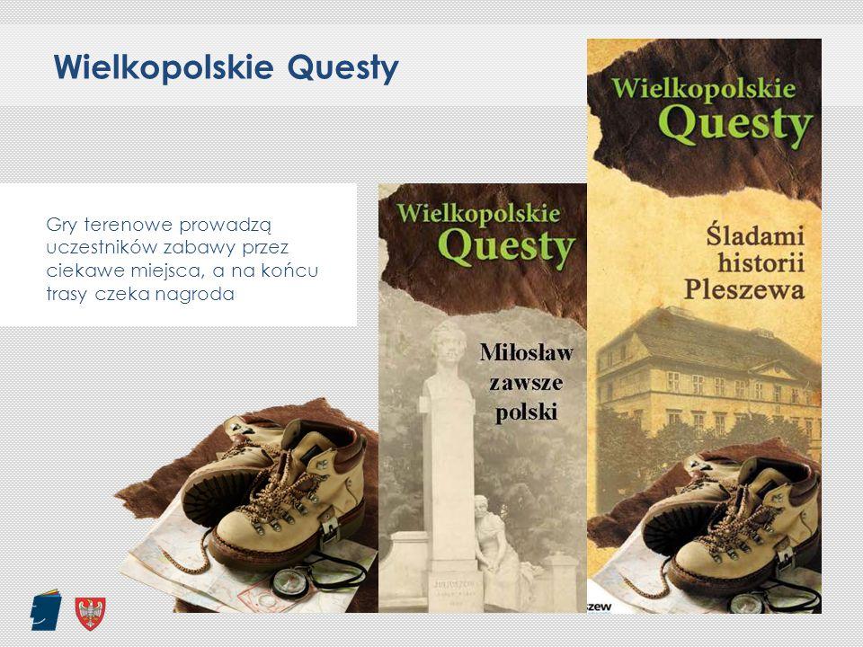 Wielkopolskie Questy Gry terenowe prowadzą uczestników zabawy przez ciekawe miejsca, a na końcu trasy czeka nagroda