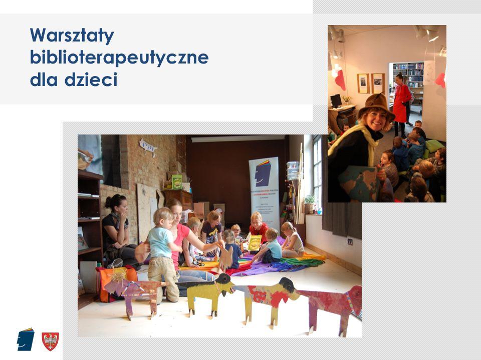 Warsztaty biblioterapeutyczne dla dzieci