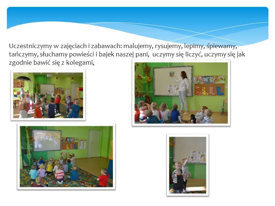 Uczestniczymy w zajęciach z języka angielskiego oraz codziennych zajęciach z języka niemieckiego.