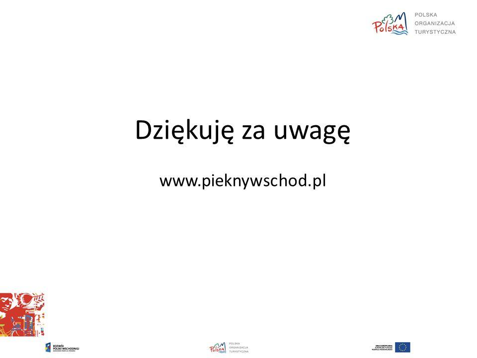 Dziękuję za uwagę www.pieknywschod.pl