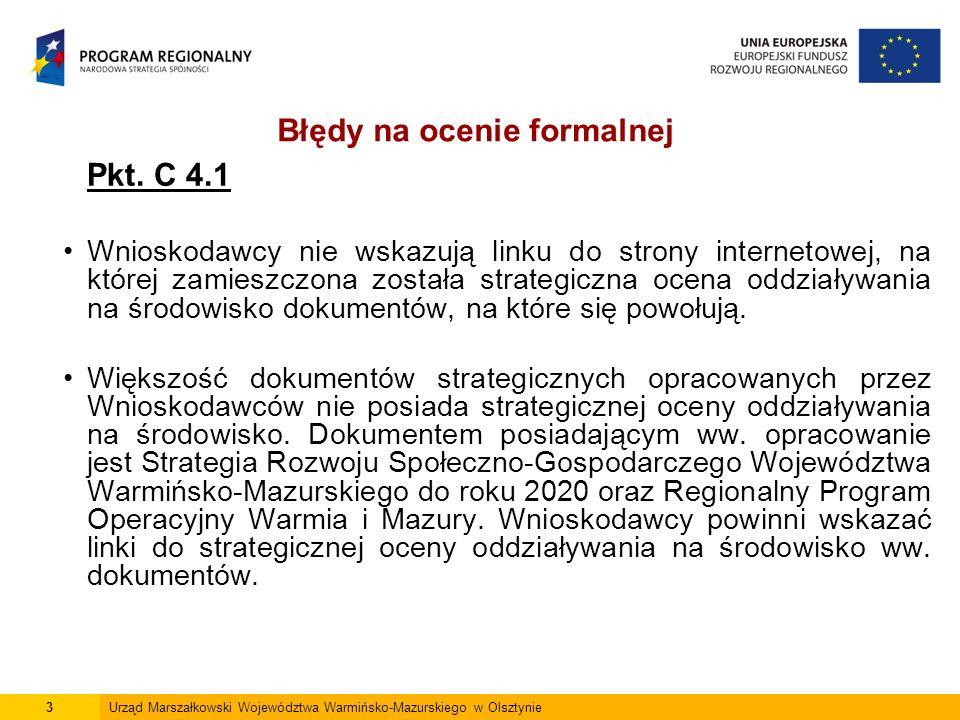 4Urząd Marszałkowski Województwa Warmińsko-Mazurskiego w Olsztynie Pkt.