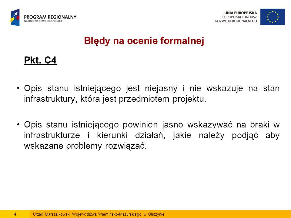 15Urząd Marszałkowski Województwa Warmińsko-Mazurskiego w Olsztynie Wnioskodawca powinien posiadać prawo do dysponowania nieruchomością na cele budowlane.