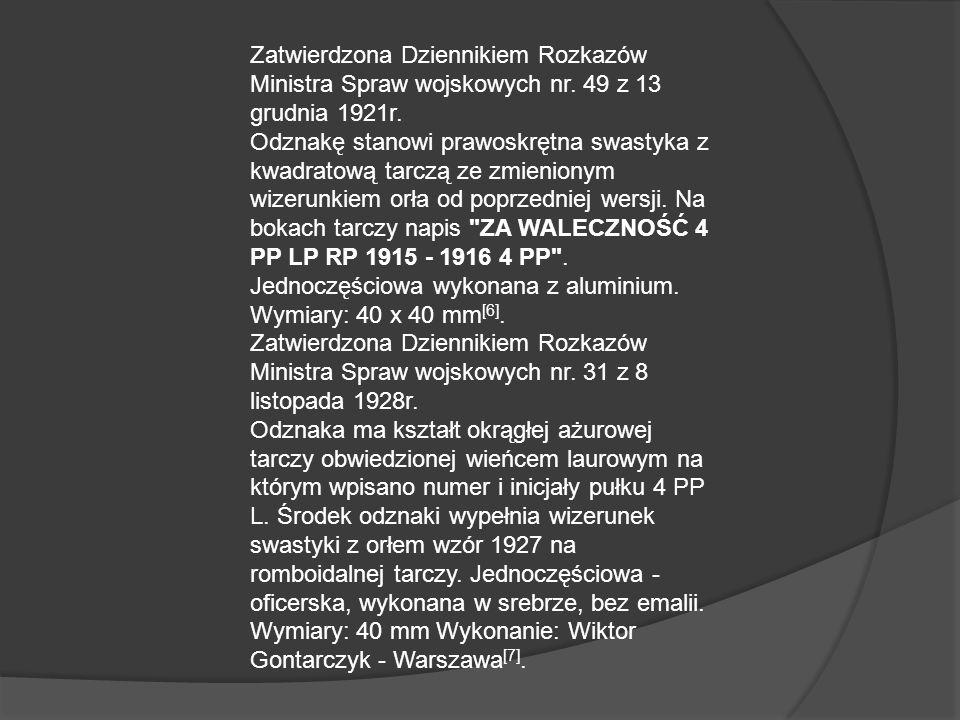 Legioniści Dowódcy pułku: ppłk Bolesław Roja (18 III 1915 - 15 IX 1917) mjr Edward Szerauc (2 XI 1918 - 17 I 1919 ) ppłk Juliusz Zulauf (18 I - 24 VII 1919) kpt.