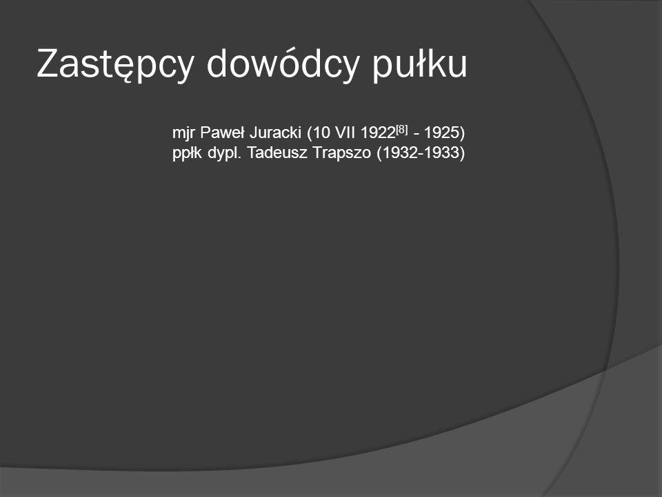 Dowódcy batalionów: mjr Marian Prosołowicz (dowódca baonu sztabowego od 10 VII 1922) mjr Jan Kicka (komendant kadry batalionu zapasowego od 10 VII 1922) kpt.