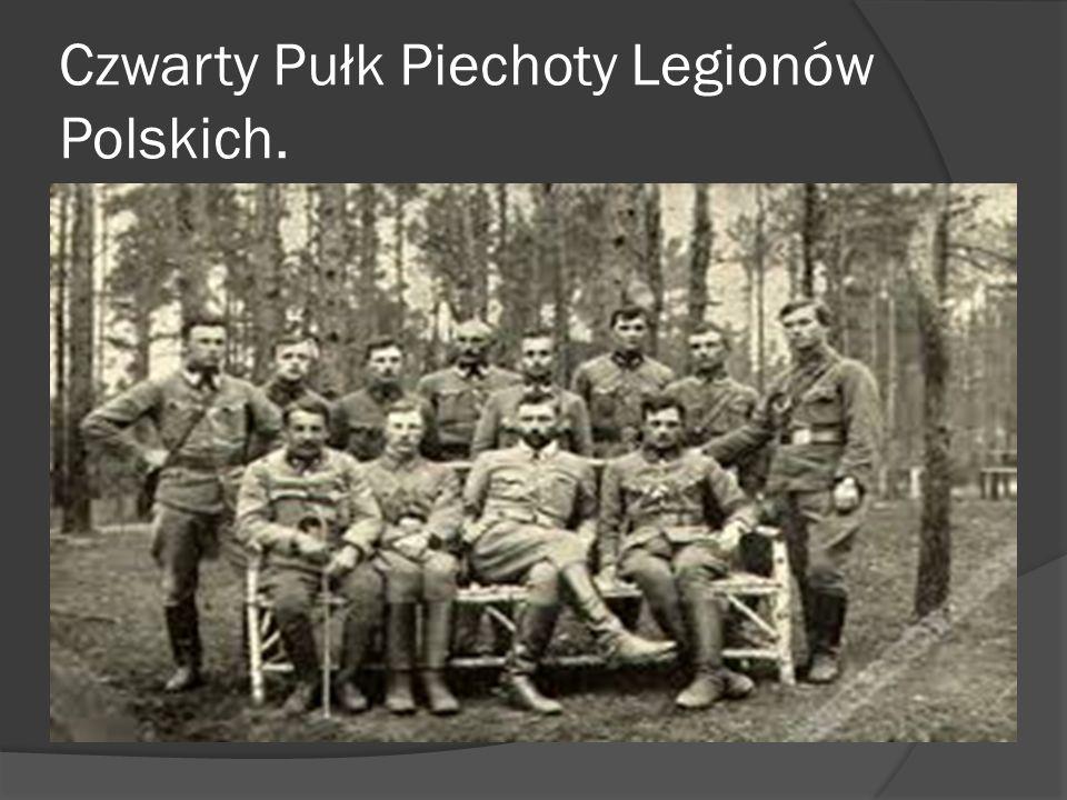 4 pułk piechoty Legionów w styczniu 1919 r. we Lwowie.