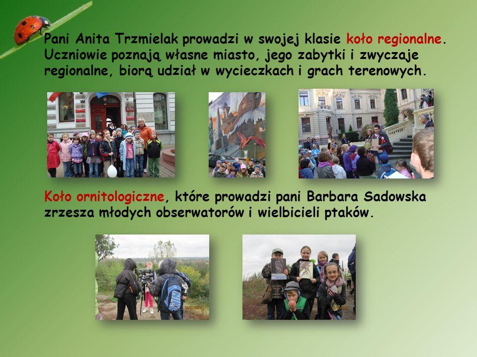 Dzieci z klas pań Beaty Nowickiej i Agnieszki Król- Konarskiej mogą uczestniczyć w zajęciach koła ekologicznego.