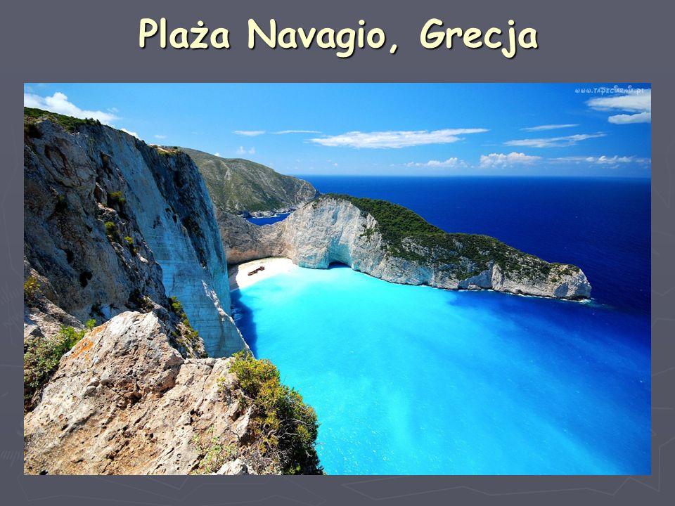 Plaża Navagio, Grecja