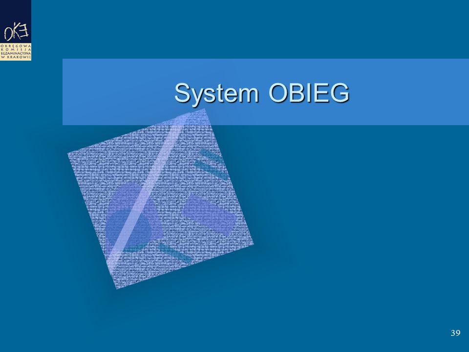 System OBIEG 39