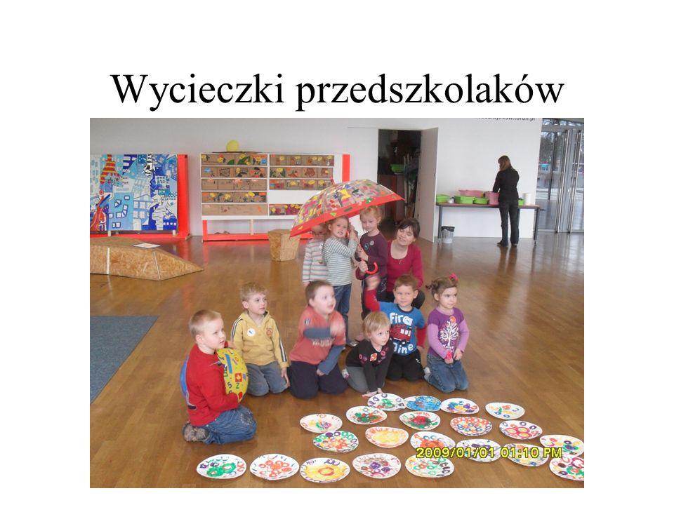 Wycieczki przedszkolaków
