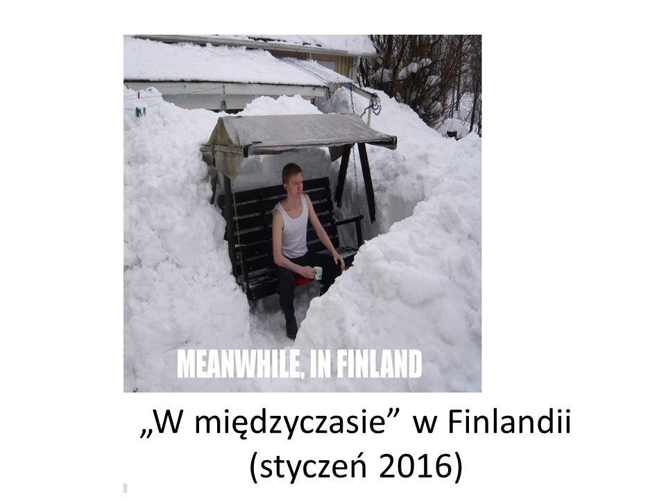 """""""W międzyczasie w Finlandii (styczeń 2016)"""