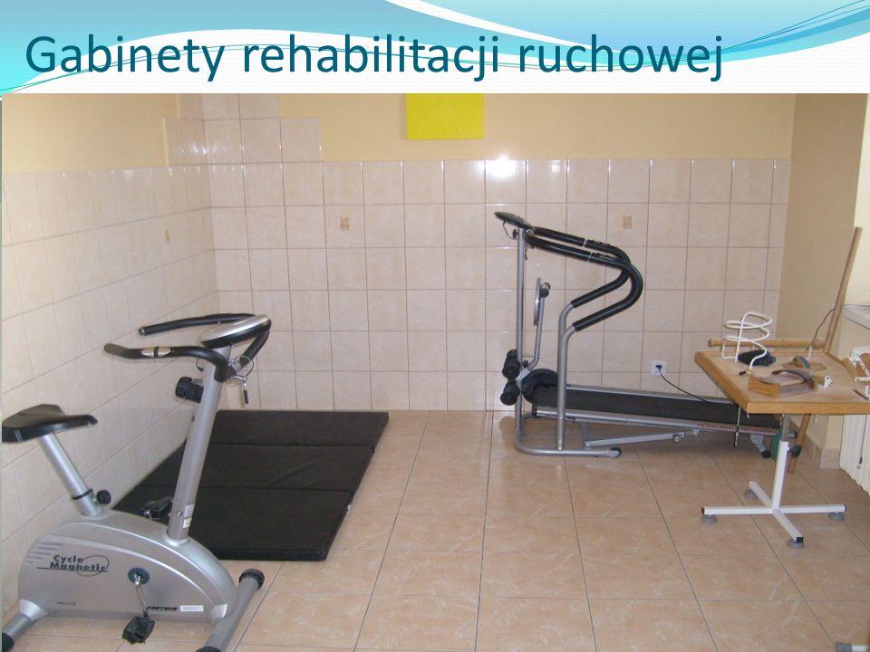 Gabinety rehabilitacji ruchowej