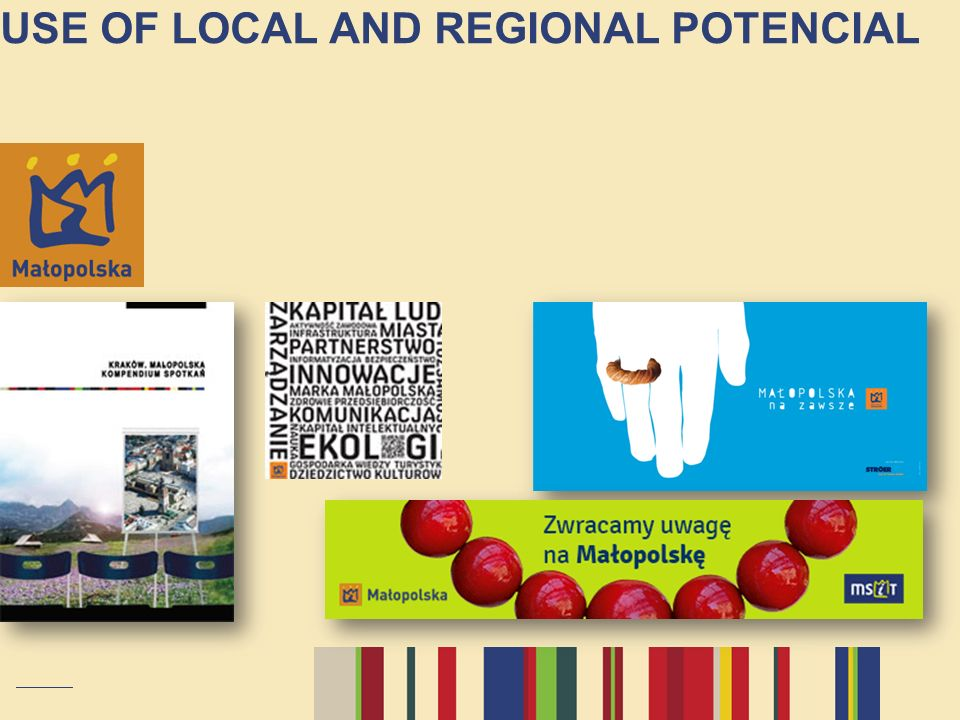 USE OF LOCAL AND REGIONAL POTENCIAL
