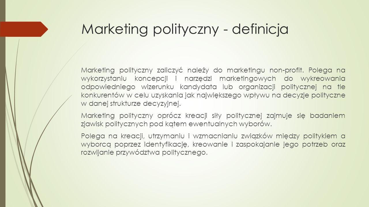 Narzędzia marketingu politycznego cd  Bezpośrednie:  Door-to-door  Debata  Wiece i spotkania  Telemarketing  Internet  www  Reklama na www  Social media  Blogi polityczne  mailing