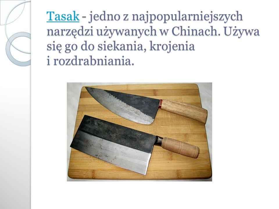 TasakTasak - jedno z najpopularniejszych narzędzi używanych w Chinach.