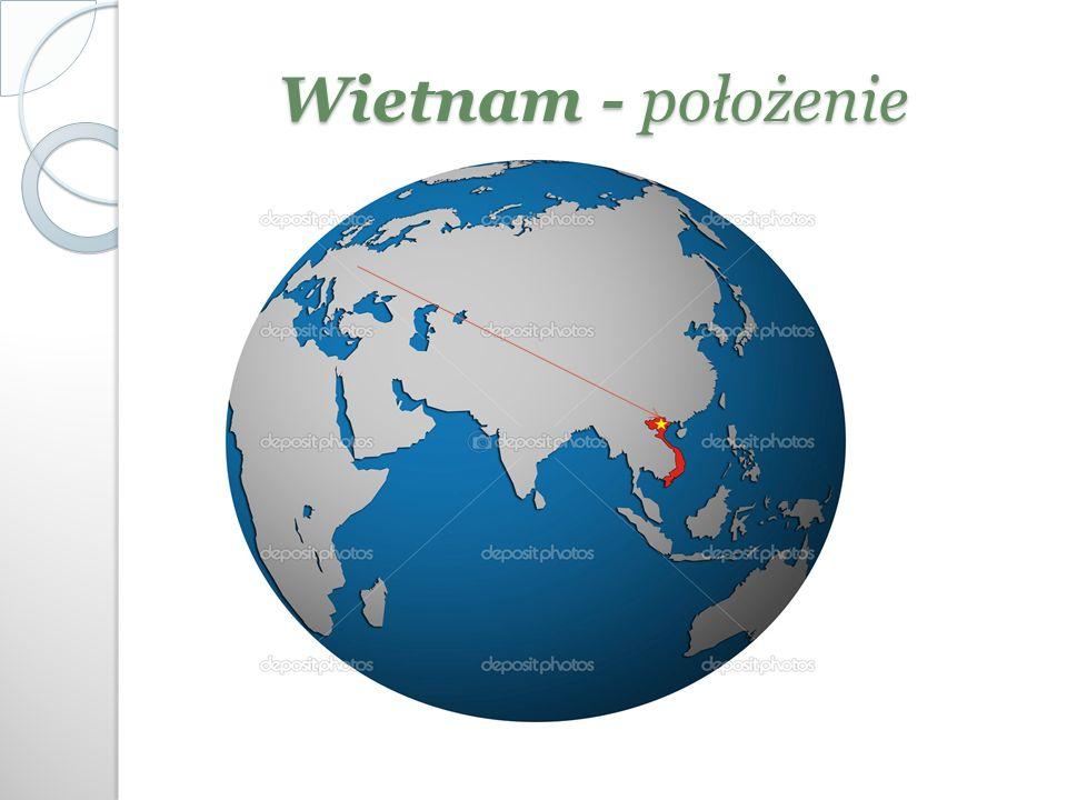 Wietnam - położenie