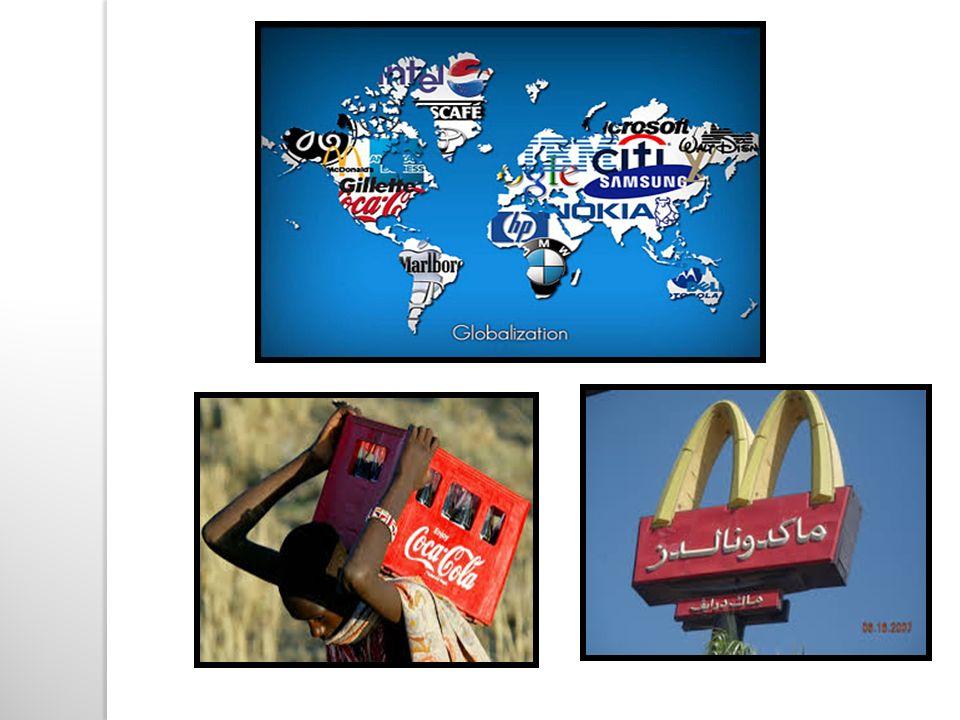 Skutki globalizacji: PozytywneNegatywne rozwój nowoczesnych form łączności np.