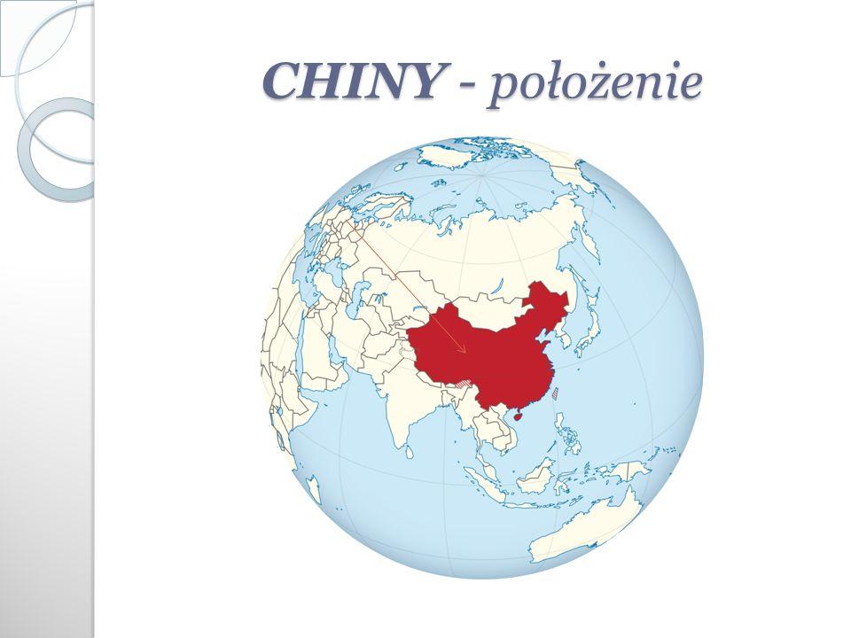 CHINY - położenie
