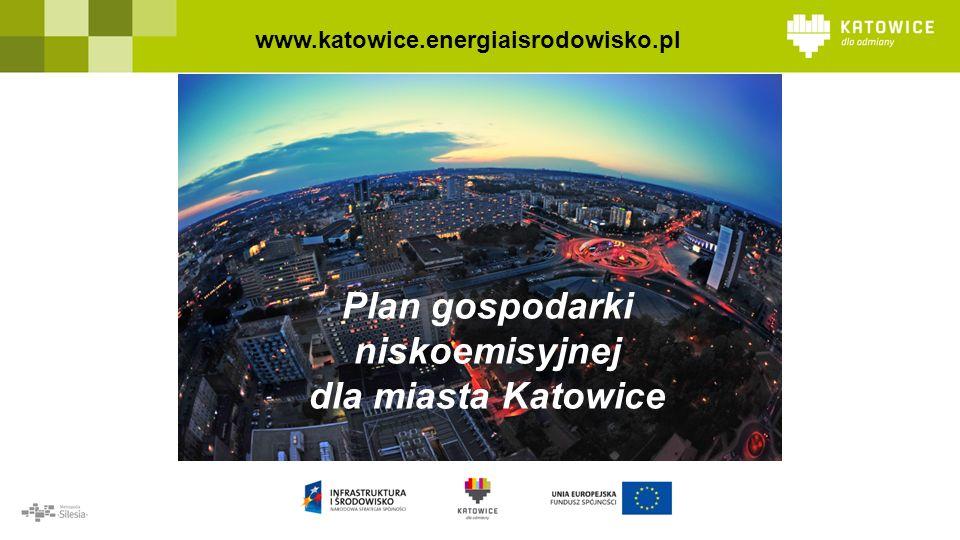 Plan gospodarki niskoemisyjnej dla miasta Katowice www.katowice.energiaisrodowisko.pl
