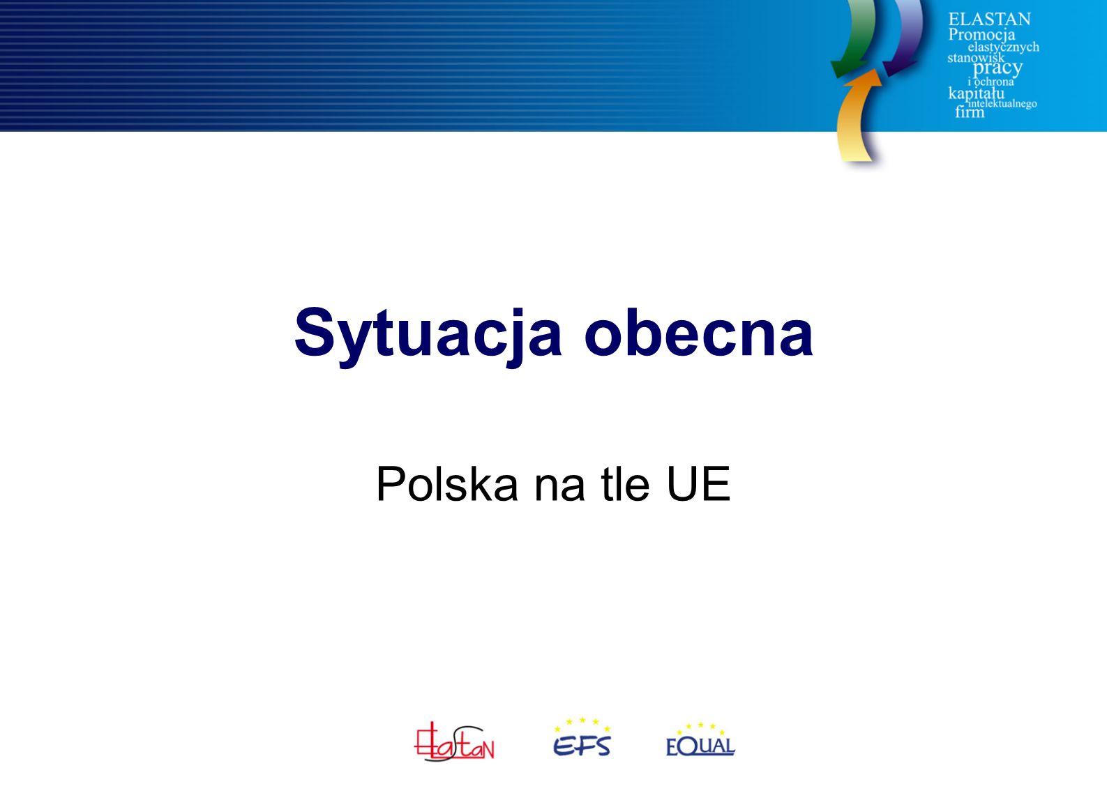 Sytuacja obecna Polska na tle UE
