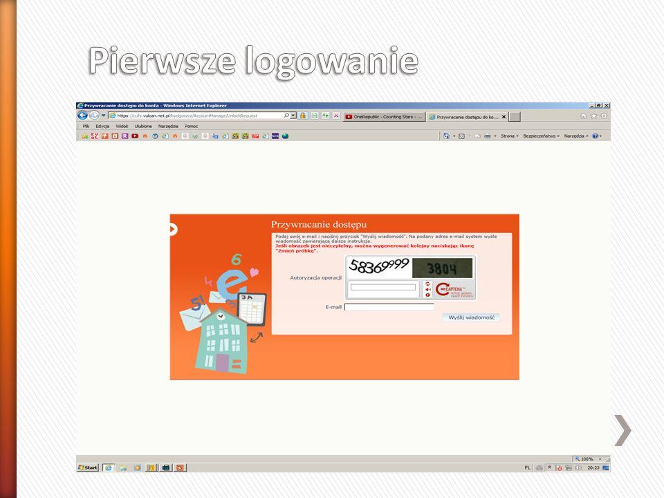 » Pamiętaj » Login to Twój adres e-mail » Hasło zapamiętaj lub zapisz w bezpiecznym miejscu