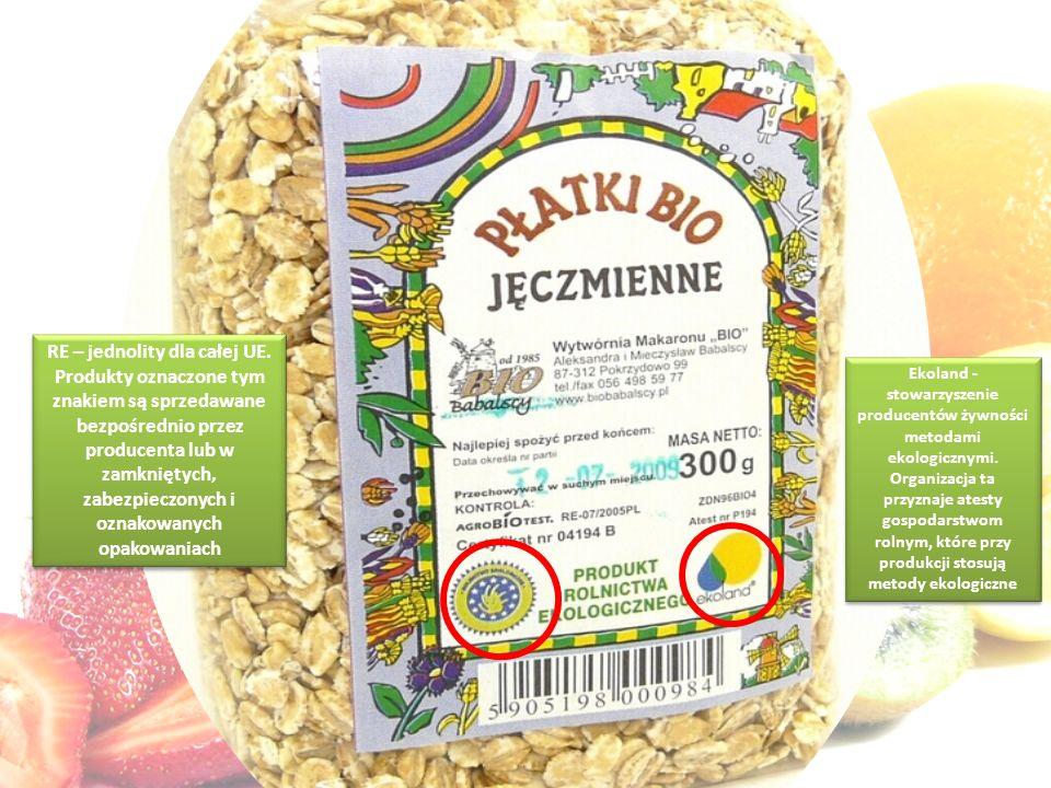 Ekoland - stowarzyszenie producentów żywności metodami ekologicznymi.