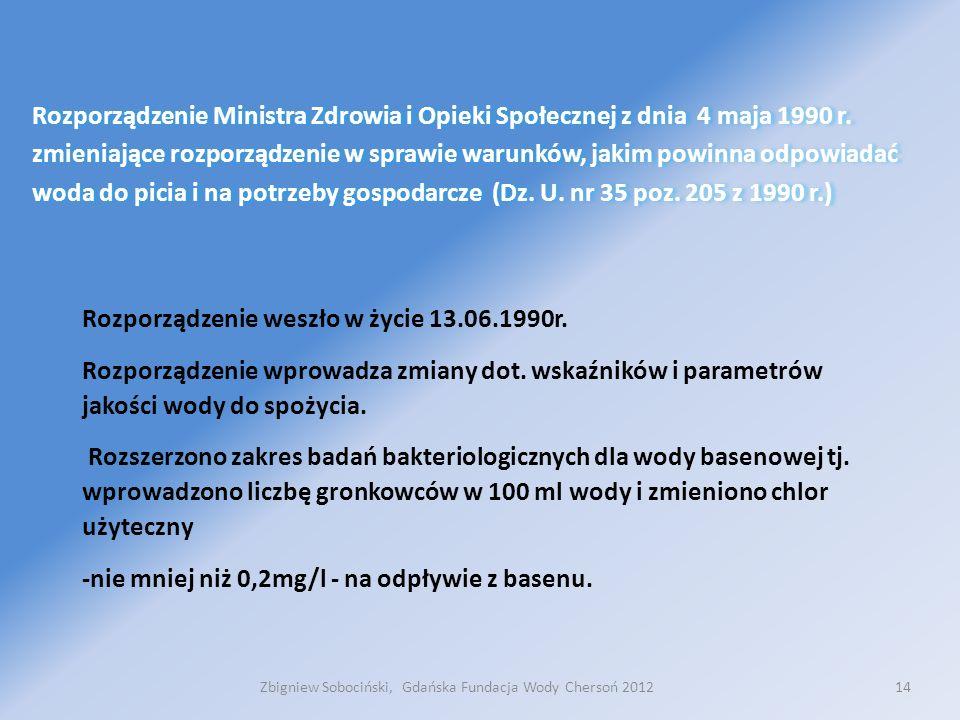 14 Rozporządzenie Ministra Zdrowia i Opieki Społecznej z dnia 4 maja 1990 r.