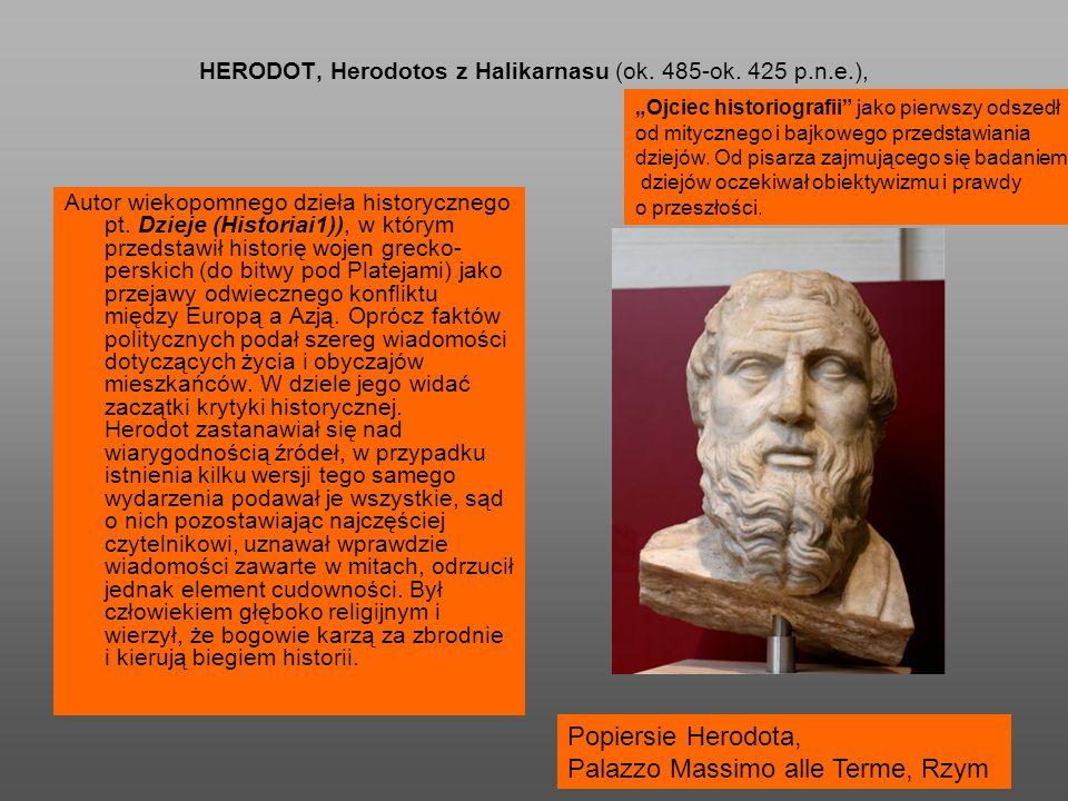 HERODOT, Herodotos z Halikarnasu (ok. 485-ok.