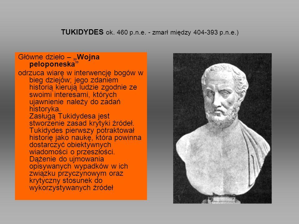 TUKIDYDES ok.460 p.n.e.