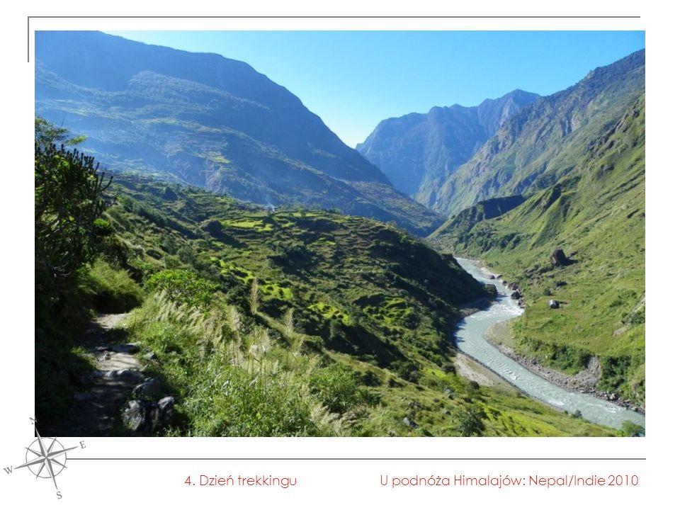 U podnóża Himalajów: Nepal/Indie 20104. Dzień trekkingu