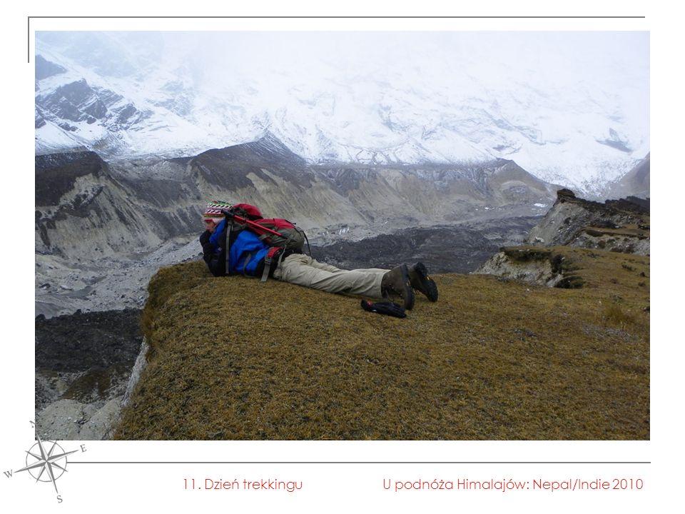U podnóża Himalajów: Nepal/Indie 201011. Dzień trekkingu