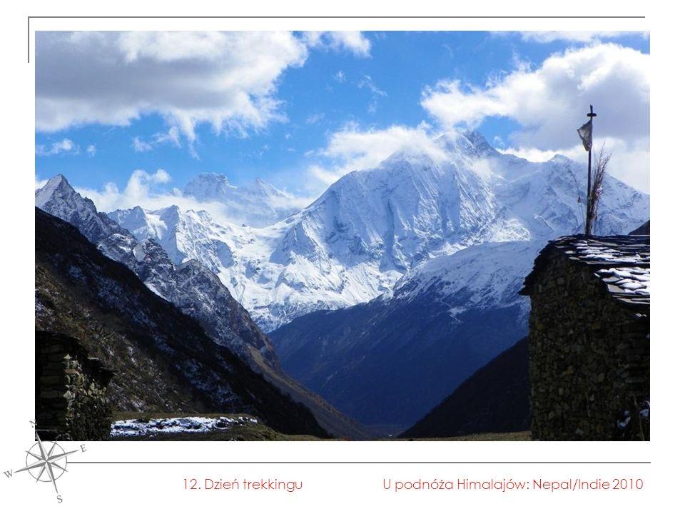 U podnóża Himalajów: Nepal/Indie 201012. Dzień trekkingu