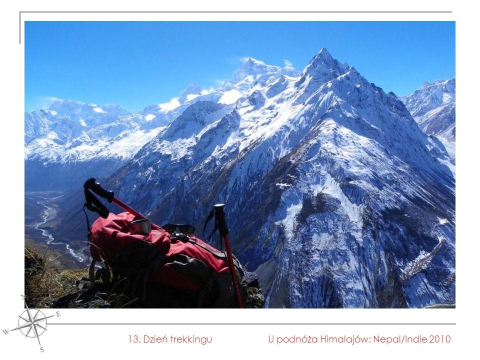 U podnóża Himalajów: Nepal/Indie 201013. Dzień trekkingu