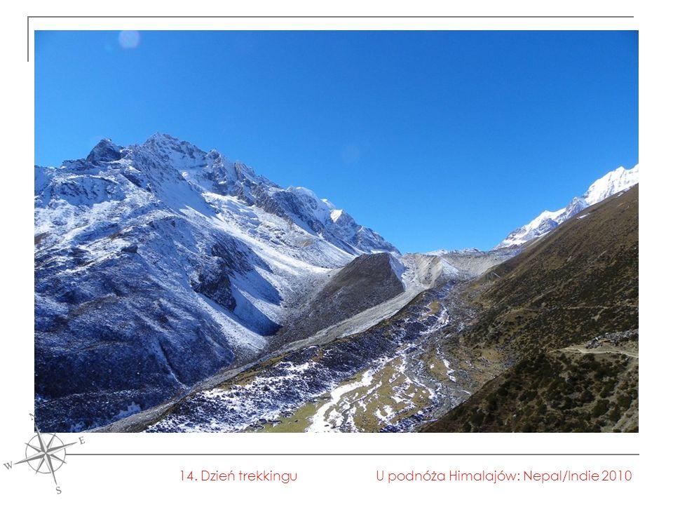 U podnóża Himalajów: Nepal/Indie 201014. Dzień trekkingu