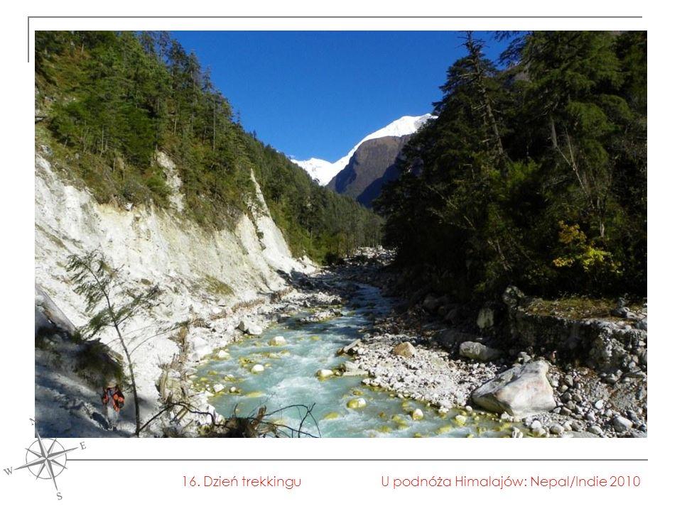 U podnóża Himalajów: Nepal/Indie 201016. Dzień trekkingu