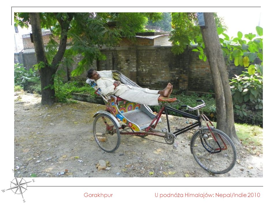 U podnóża Himalajów: Nepal/Indie 2010Gorakhpur